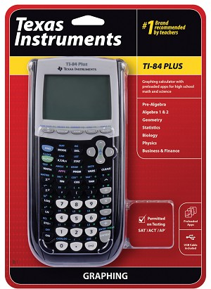New TI-84 Plus Graphing Calculator - 10Pack - Retail