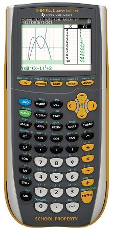 Texas Instruments TI 84 Plus C Silver EZ Spot Teacher Kit Pack - Factory Renewed