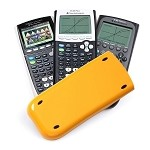 TI-84 Plus Slide Case - Yellow - Replacement Slide Case for TI-84 Plus, 84 Plus Silver, 84 Plus C, and 89 Titanium Calculators -EZ SPOT