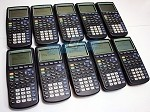 TI-83 Plus Graphing Calculator 10 Pack - School Pack - Refurbished