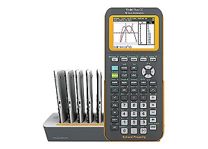 NEW - Texas Instruments® TI-84 Plus CE EZ-Spot Graphing Calculator Teacher Pack