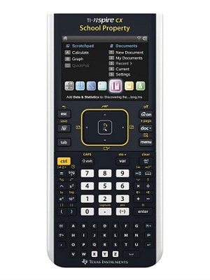 Texas Instruments TI-Nspire CX Color - EZ Spot - School Property - Graphing Calculator - 10 Pack